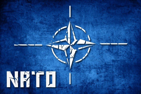 شعار حلف الناتو الصليبي