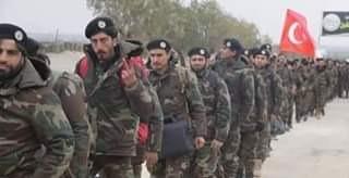 مراكز نقل المرتزقة السوريين الي ليبيا